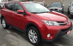 2015 Toyota RAV4 Limited AWD Navigation_LOADED