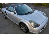 Toyota MR-S 1.8 VVTI 2 Seat Convertable (V.Low Mileage) / MR2 Import / Roadster / Spyder.Good Runner