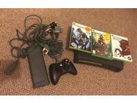 Xbox 360 120 with games