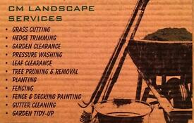 Garden and Landscape Services (Grass Cutting, Hedge Trimming, Garden Clearance, Pressure Washing)