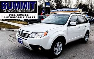 2010 Subaru Forester X | AWD | NAVI | PANO ROOF | ACCIDENT FREE