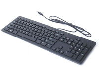 Genuine Dell (KB113T) Black USB Wired Slim Quiet Computer Keyboard & Mouse