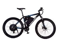 Fast Electric Bike, 30+mph, 1000W, Powerful 48V battery, Disk Brakes, 24 hour support