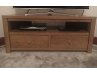 NEXT TV STAND- Good condition but a small mark on top, see pic 3, barely noticeable.