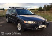 Volvo XC70 2.4 D5 SE 2007, ONE OWNER from new full service history incl new clutch and timing belt !