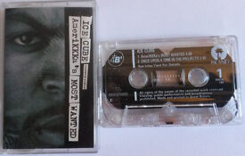 Ice Cube. Amerikkka's Most Wanted, Rare Cassette Single, UK