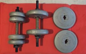 DP FIT FOR LIFE ORBATRON DUMBBELL WEIGHTS
