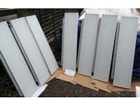 Bright white and energy efficient, LED Lighting panel 1300 x 300 x 65 mm
