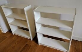 White Bookcases IKEA Billy