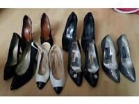 Vintage women's shoes bundle joblot