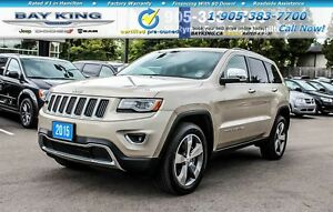 2015 Jeep Grand Cherokee LIMITED | 4X4 | DUAL PANO SUNROOF | HTD