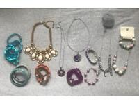 Selection of dress jewellery