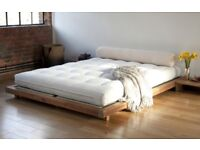 Japanese Minimal Platform Kingsize Bed Futon Company RRP £595