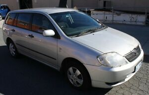 2002 Toyota Corolla Wagon Canberra City North Canberra Preview