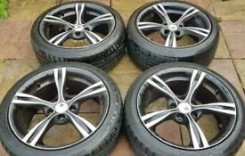 "BMW 3 series XTK KD006 18"" alloy wheels - 5 x 120 - 245/40 - 8.5J - Concaved - Diamond Cut - £240"