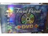 Trivial Pursuit DVD board game – used but good condition