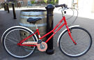 Ladies dutch style bike, small frame size, regular wheel 26 inch, serviced, warranty