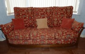 Ercol Renaissance large sofa and armchair