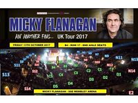 x4 Floor Seated Tickets for Micky Flanagan @ SSE Wembley Arena