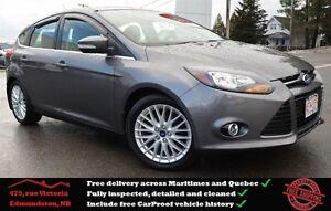 2013 Ford Focus Titanium, Navigation, Leather Interior, One Owne