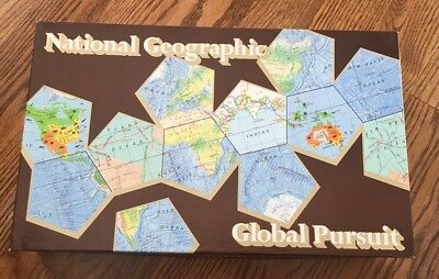 National Geographic Global Pursuit Game *NEW* Fun Family Geography Boardgame