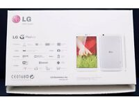 LG GPad 8.3 tablet, with box, charger and Moko case.