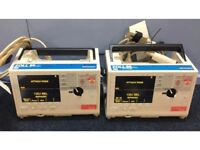 Zoll M-Series Biphasic 200 Joules Defibrillators with ECG Options and 2 x Paddle Leads