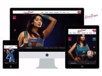 Modern Creative web designing and developments and quality logo & Identity £49