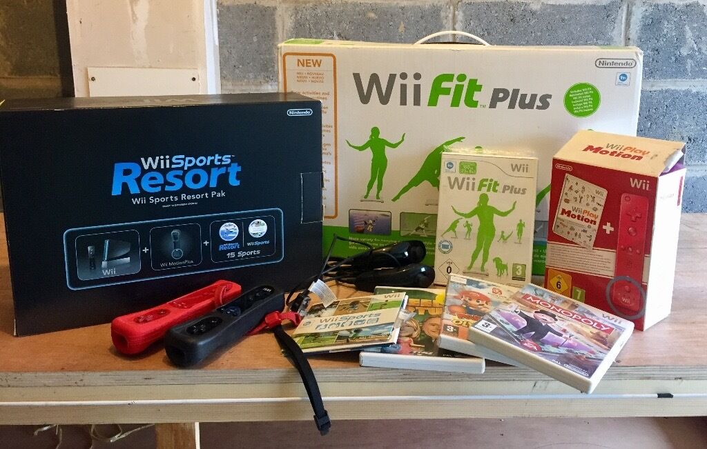 Nintendo Wii Bundleincludes games and wii fitin Kilmarnock, East AyrshireGumtree - Nintendo Wii Bundle, includes the following Black Nintendo Wii (excellent condition, hardly used) Wii fit board (as new condition) 2 x controllers 2 x nunchucks 5 x games All in excellent as new condition. Pick up from Kilmarnock! Can deliver for a...