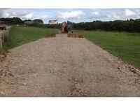 "Roadstone, 6-4"" screened, Cornish slate. Only £3.60 per tonne including vat."