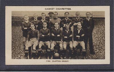 Pattreiouex - Famous Footballers 1922 - # 34 Clapton Orient
