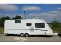Year 2007 Swift Charisma 590 Cris registered 6 berth double axle caravan