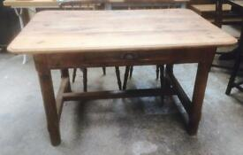 Very old French oak table