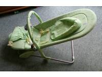 Mother care vibrating bouncer chair