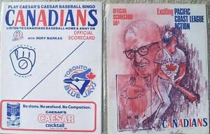 Brewers (MLB) vs. Canadians + Blue Jays programs