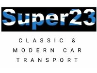 Super23 Classic & Modern Car Transport/Recovery Service. Professional & Affordable