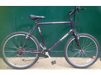 23 inch Trek 800 Mountain Track large frame Adult Mountain Trail Bike Bicycle Cycle