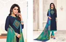 Kasmeera Rasleela Vol2 Wholesale Heavy Dupatta Party Wear Thread Embroidered Salwar Suit