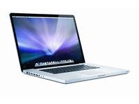 "Macbook pro (15/17"") working / non working"