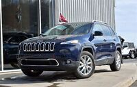 2014 Jeep Cherokee Limited 4X4 V6 NAV GPS+CUIR+TOIT PANORAMIQUE+