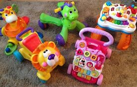 Baby toddler toys, walker, ride on, activity table, tower