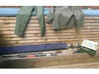 Sea Fishing, reels, rods, equipment