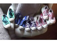 CONVERSE ALLSTAR £25 for the lot