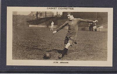 Pattreiouex - Famous Footballers 1922 - # 78 Graham - Arsenal