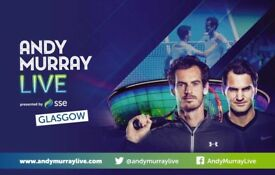 Andy Murray Live Tickets - Courtside seats - TONIGHT