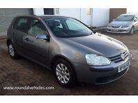 JUST ARRIVED 2006 VW Golf 1.9 TDi SE Gunmetal grey, 12 MONTHS MOT, black leather , alloys