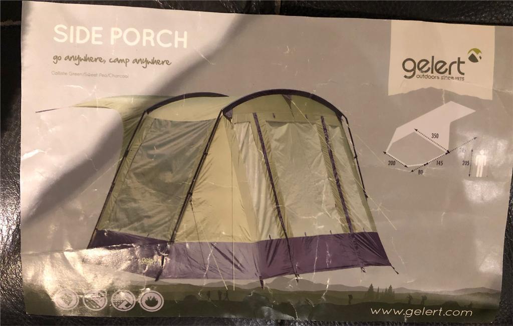 Gelert tent side porch & Gelert tent side porch | in Westbury On Trym Bristol | Gumtree