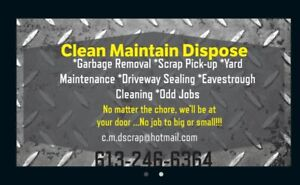GARBAGE REMOVAL SERVICES