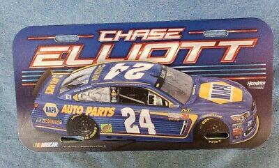 CHASE ELLIOTT LICENCE PLATE.. NEW... #24 NAPA CAR... NASCAR