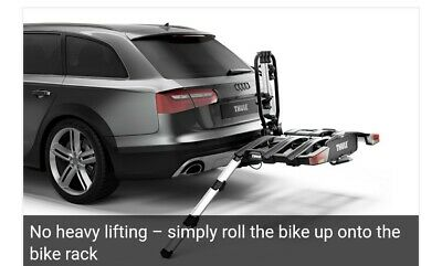 New Thule EasyFold XT 3 Foldable Loading Ramp 9334 Cycle Carrier Bike...